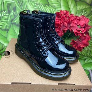 Dr. Martens Juniors 1460 Patent Black Leather